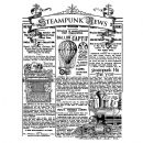 Stamperia - Antonis Tzanidakis - Natural Rubber White Stamps - 15 x 20cm - Steampunk News